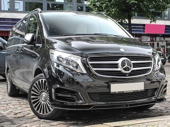 Transport de Groupe en Mercedes Classe V de 1 à 7 passagers