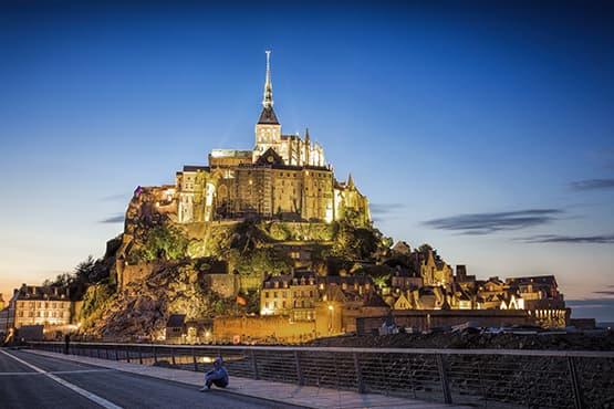 Navette entre Beauvais et Mont Saint-Michel